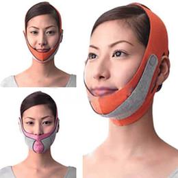 masque de minceur pour visage chaud minceur facial masseter double menton soins de la peau mince ceinture bandage en Solde