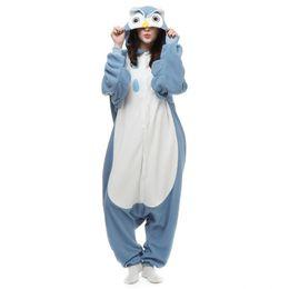 Chinese  New Factory Brand Hot Sales Adult Owl Pyjamas Unisex Sleepwear Lovers Onesie Pyjamas Night Owl Cosplay Dress Cartoon Animals Owl Jumpsuit manufacturers