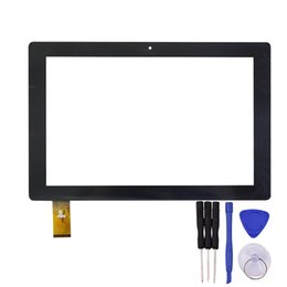 $enCountryForm.capitalKeyWord NZ - Wholesale- 10.1 inch Touch Screen HK10DR2590 QX20150730 for T104W 3G Table PC Glass Panel Sensor Lens Replacement with Free Repair Tools