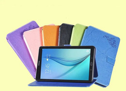 """screen protector drop 2018 - Print Flower PU Leather Cover for Samsung Galaxy Tab A 10.1 T585 T580 SM-T580 T580N 10.1"""" Tablet Case + Screen Prot"""