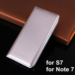 Notes selliNg online shopping - New Luxury Leather Wallet Flip Case Cover For Samsung Galaxy S7 Edge S6 edge Note Note Plus J7 J5 with Card Slot Hot Selling