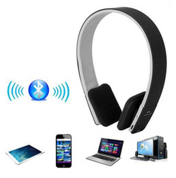 Headband Microphone Canada - Wireless Bluetooth Headphones Earphone Headset Noice Canceling With Microphone for ios Android Smartphone Table PC