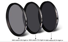 82mm Camera Filters Canada - Professional Zomei 82mm ND ND2 ND4 ND8 Filter Neutral Density Filters Densidade Neutra Protector Filtro for Canon Nikon Sony Camera Lens