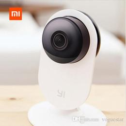 Venta al por mayor de XiaoMi XiaoYi Cámara de video IP original HD 1280 * 720 Visión nocturna Original Mini cámara de video conferencia WiFi para Smart Home Life NWP001