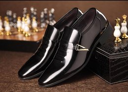 $enCountryForm.capitalKeyWord Canada - 2016 New style Men Flats Loafers Party wedding Shoes British Style dress shoes dress Slip-On shoes Business suit breathable shoes XX97