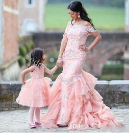 $enCountryForm.capitalKeyWord Canada - New 2016 Meat Pink Collar Mermaid Wedding Dresses Crystal Beaded Lace Applique Long Layered Flouncing Bride Married Wedding Dress Plus Size