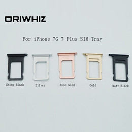 Wholesale Real Photo High Quality SIM Card Tray for iPhone G Plus Plus Replacemence Spare Parts Mix Order
