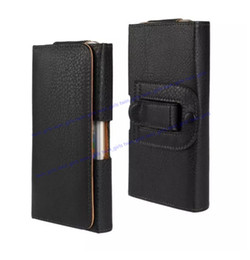 Leather Belt Clips NZ - Universal Wallet PU Leather Horizontal Case Cover Pouch With Belt Clip For Apple Iphone 6 7 8 Plus iphone X Samsung S8 S7 Note 5