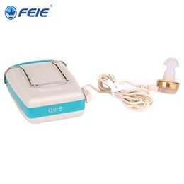 Discount pocket amplifier - pocket Listening Devices Ear Listening Aide Body Worn Hearing Amplifier with fast shipping S-6D