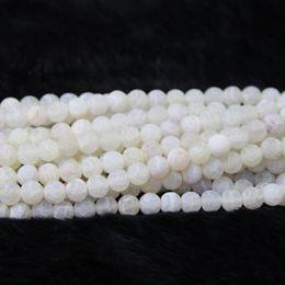 $enCountryForm.capitalKeyWord Australia - 10mm 38pcs 1Strand Dragon Fire White Druzy Agate Beads Natural Gemstone Crystal Quartz Druzy Agate Necklace Pendant Jewelry Make Connector
