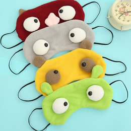 $enCountryForm.capitalKeyWord Canada - New Cartoon Monster Eye Shading Sleep Mask Lovely Cosplay Blindfold Travel Aid Light Guide Rest Cover In Hot Sale