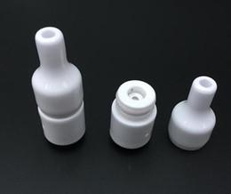 $enCountryForm.capitalKeyWord Canada - 510 ceramic donut sub ohm vaping wax vaporizer atomizer no coil no wick wax oil atoms kiln wax dry herb donut atomizer kiln
