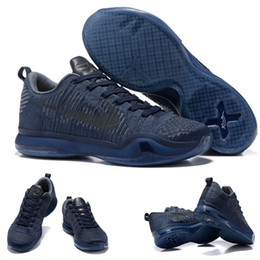 online store ae50e 26a32 (With shoes Box) Bryant X Kobe 10 ELITE LOW FTB Fade To Black Mamba ...