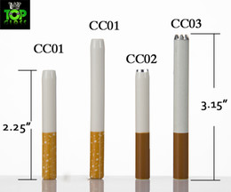 china cheap cigarettes UK - China Wholesale Cheap Food Grade Ceramic Cigarette Hitters Sparkle Coffee Yellow Filter Colored Smoking Pipe Metal Aluminum Free DHL