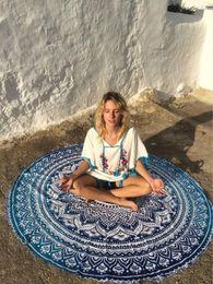 $enCountryForm.capitalKeyWord Canada - 7days to canada 2017 Vintage Floral Beach Blanket Huge Cotton Beach Mat Retro Women Wrap Skirt for Yoga Bask