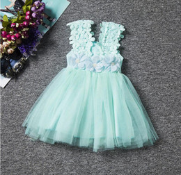 $enCountryForm.capitalKeyWord Canada - Girls Elegant Floral Dress Girls fashion Hug me Baby Girls Clothes Lace Tutu Dresses Childrens Prubcess Sequins Dresses for Kids Clothing CR