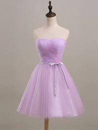 $enCountryForm.capitalKeyWord Canada - Low price 2016 new sweetheart strapless short paragraph purple graduation prom dress fashion sexy folds plus size bridesmaid dress