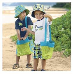 $enCountryForm.capitalKeyWord Canada - 1000pcs Fashion Beach Mesh Bags Sand Away Collection Toy Bag Storage For Sea Shell Kids Children Tote Organizer Storage Bags 24*24cm
