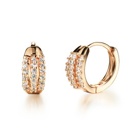 $enCountryForm.capitalKeyWord UK - 2016 New Fashion Multilayer Cubic Zirconia Woman Hoop Earring Women 18K Gold Plated Wedding Jewelry Cheap Price DD655
