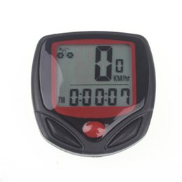 14 wire online shopping - Bicycle Computer Leisure Functions Waterproof Cycling Odometer Speedometer With LCD Display Bike Computers For Bicycle Accessories
