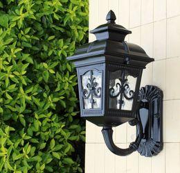 Patio Porch One Light Exterior Wall Lantern Outdoor Light Lamp Bronze Black  Finish, Aluminum+ Clear Glass Waterproof Wall Lamp LLFA Discount Led Patio  ...