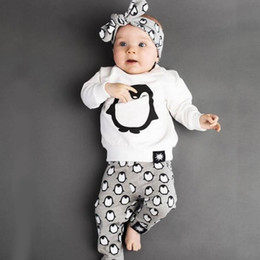 Ins Newborn Boy Girl Set Clothing Penguin Animal Cartoon Suit For Infant Toddler Long Sleeve T Shirt Top+Trouser Pant Tracksuit Costume  sc 1 st  DHgate.com & Penguin Suit Costume Australia | New Featured Penguin Suit Costume ...