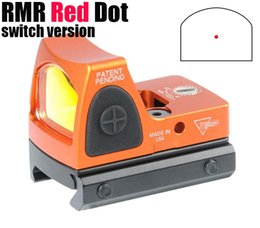 rmr sights 2021 - Tactical RMR Red Dot Reflex Sight Adjustable (LED) 3.25 MOA Red Dot with Side Button Control Orange