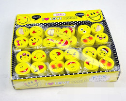 $enCountryForm.capitalKeyWord Canada - Lovely smiling face Emoji Eraser Cute Rubber Correction Pencil Erasers Student Stationery School Supplies Kids Gift Promotion