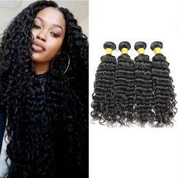Weaves for black Women online shopping - New Arrival Unprocessed Hair Bundles Peruvian Deep Wave for Black Women Brazilian Indian Cambodian Mongolian Malaysian Remy Human Hair Weave