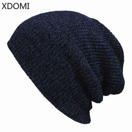 Winter Warm Beanies Canada - 7 Colors !Winter Beanies Solid Color Hat Unisex Plain Warm Soft Beanie Skull Knit Cap Hats Knitted Touca Gorro Caps For Men Women
