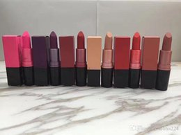 Lipstick Prices NZ - Factory price Hot brand M matte lipstick makeup lip gloss 6 colors top quality free shipping