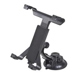 Universal GPS Auto Windschutzscheibe Saug Rücksitz Kopfstütze Tischhalterung Tablet Halter Für iPad 2/3/4/5 Tablet Ständer Schwarz Faule Knochen