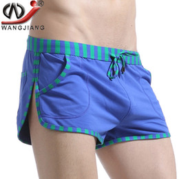 5cb66b4ced61 Patchwork Casual Shorts 2016 WJ Sides Of The Split High Quality Summer  Style Loose Low Rise Cotton Beach Shorts