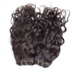 top quality virgin indian hair 2019 - Top Quality Indian Hair Weaving 3pcs lot Natural Wave Human Hair Extensions Greatremy Drop Shipping Queen Hair Bundles d