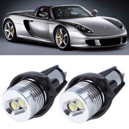 Wholesale E90 E91 10W 3 Series 325i 328i 325xi 328xi 330i 06-08 Excellent Quality xenon white LED Angel Eyes Halo Light bulb No Error