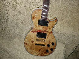 Chinese  Wholesale guitars Custom Wooden Electric Guitar One Piece Neck Free Shipping manufacturers