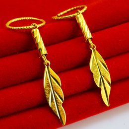 $enCountryForm.capitalKeyWord Canada - Do not fade gold earrings imitation 999 Gold Earrings New Female wedding jewelry gifts gifts Vietnam gold