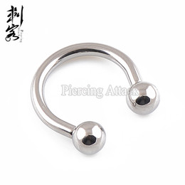 $enCountryForm.capitalKeyWord NZ - 2016 New Style 14G Titanium Internally Threaded Classic Circular Barbell Lip Ring Titanium Jewelry