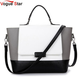 $enCountryForm.capitalKeyWord Canada - Vogue Star New PU Leather Women Bags Handbag Famou Brand Tote Shoulder Bags Casual Bolsa Designer Handbags High Quality YB40-355