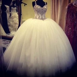 Discount Big Bling Wedding Dresses 2017 Big Bling Wedding