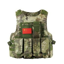 army combat vest 2018 - Tactical Vest Mens Tactical Hunting Vests Field Airsoft Molle Combat Plate Carrier CS Outdoor Jungle Equipment discount