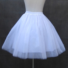 Free size lolita dresses online shopping - Lolita Princess for female all match four layers of Organza Skirt special black and white petticoat sweet lolita dress