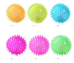$enCountryForm.capitalKeyWord UK - Led flashing spiky ball pet Dog Puppy Cat LED Squeaky Rubber Chewing sound Ball Hedgehog balls pet Fun Toys