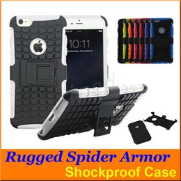 Cheap Lg Cases Canada - Robot Shockproof Protection Hybrid Heavy Duty Durable TPU silicone PC Cases for iphone 6s plus 5 samsung s7 edge note Nokia LG HTC cheap 100