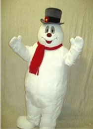 snowman kits Canada - 2017 Factory direct sale MASCOT CITY Frosty the Snowman MASCOT costume anime kits mascot theme fancy dress carnival costume