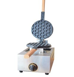 stick coating NZ - Gas Type Egg Waffle maker With Non-stick Coating Egg Waffle Machine