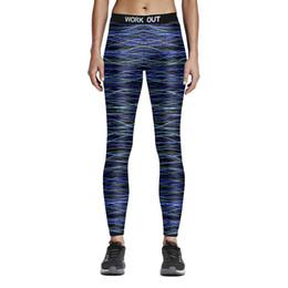 yoga pant pattern free 2019 - New Womens Work Out Print Pattern Fitness Yoga Pencil Pants Digital Printing Active Elastic Slim Sports Skinny Trousers