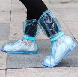 Wholesale New Arrive Outdoor Long Style Raincoat Set Cycle Rain Boots Overshoes Rainboots Travel Essentials High Quality Waterproof Rain Shoes Cover