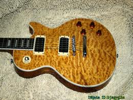 Mahogany Musical Instruments Canada - ONE Piece Neck Custom Shop Electric Guitar Mahogany Body OEM Musical instruments