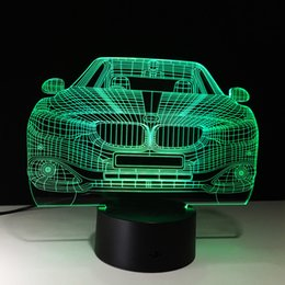 $enCountryForm.capitalKeyWord Australia - 3D Car Auto Illusion Lamp Night Light DC 5V USB Powered 5th Battery Wholesale Dropshipping Free Shipping